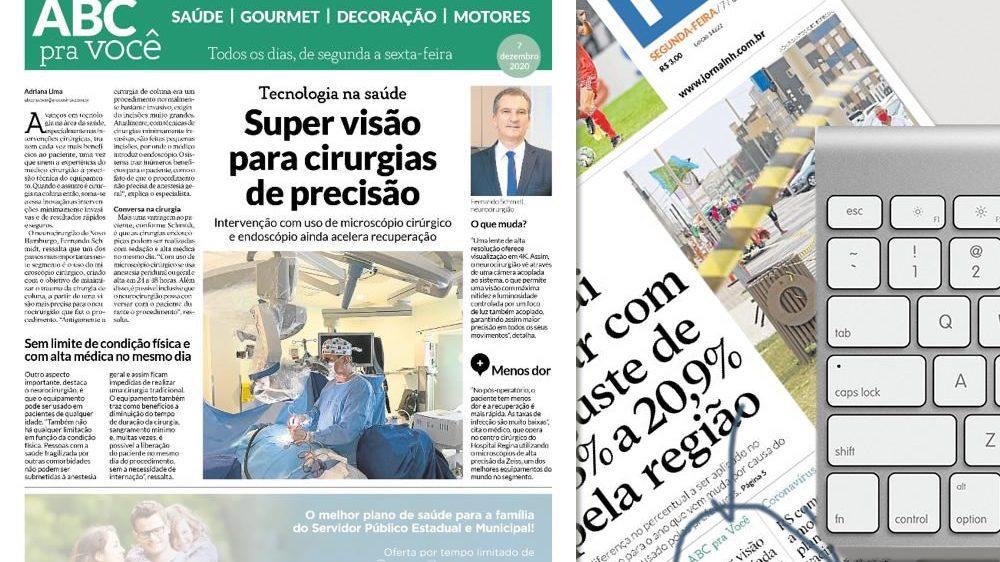 Cirurgias minimamente invasivas na coluna: MICROSCÓPIO CIRÚRGICO E ENDOSCÓPIO