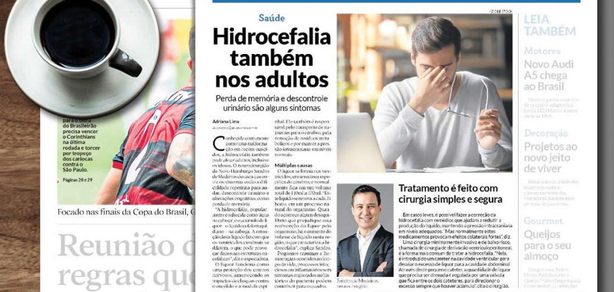 Hidrocefalia também afeta adultos